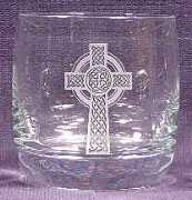 Celtic Cross on 10oz Nordic Old fashioned Tumbler